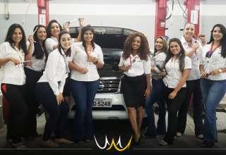 nissan dia das mulheres mecânica