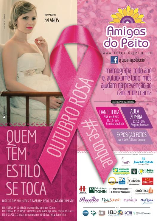 cartaz OUTUBRO ROSA 2014