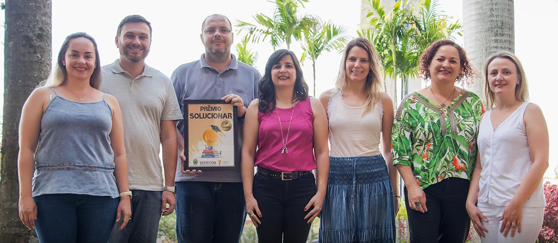USC conquista os três lugares do Prêmio Solucionar com projetos de melhorias para Bauru