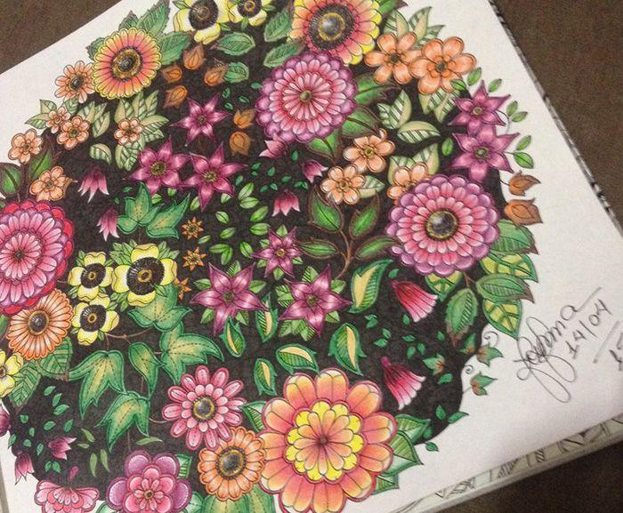 ideias para pintar livro jardim secretoLivros de colorir para adultos