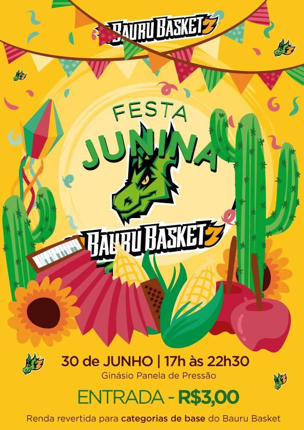 Festa Junina Bauru Basket