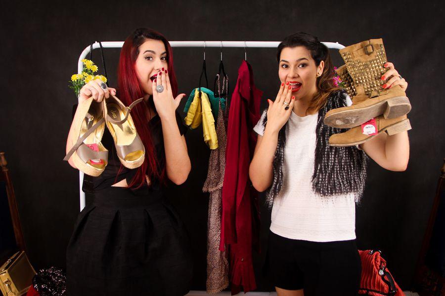 082e36629b1 Tamylin Silva e Mayra Ferraz uniram a amizade e a paixão pela moda para  criar o Bazar do Desapego