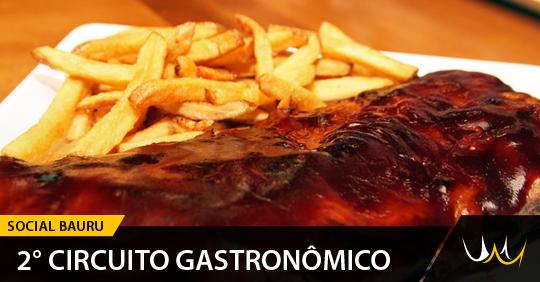 Circuito Gastronomico : ° circuito gastronômico de bauru acontece este mês com a