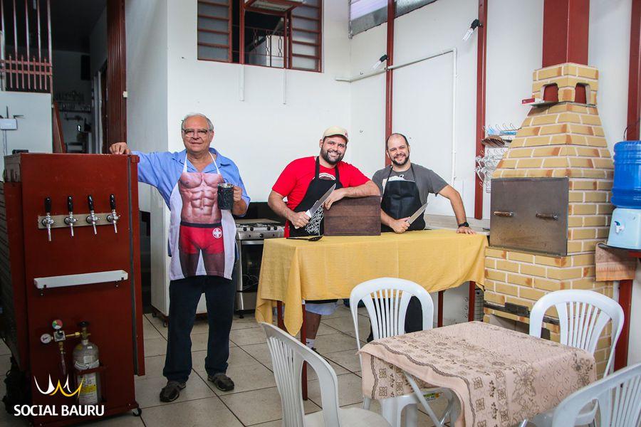 Antonio Tonon, Wilson Monaco e Diego Sávio: parceria que deu certo!