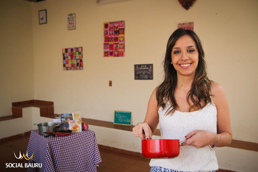 Viviane Mendes é apaixonada pela arte de cozinhar desde a infância