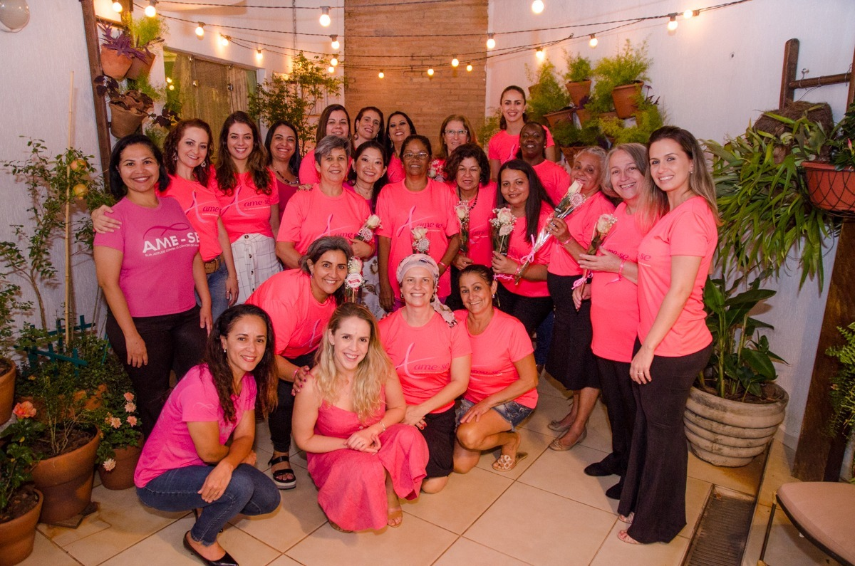 projeto ame-se bauru câncer de mama