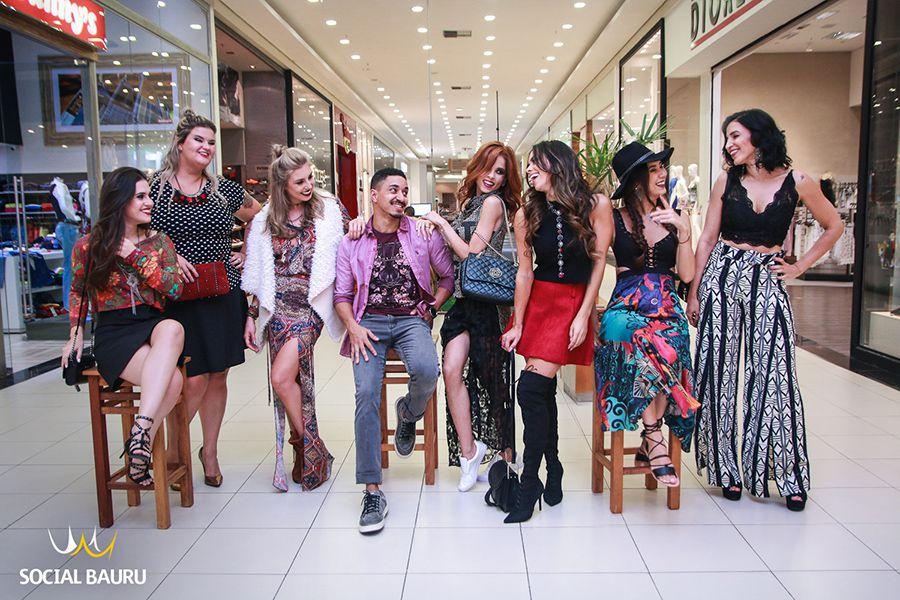 9bdacf835 Blogueiros mostram as tendências do outono e inverno no Bauru Shopping