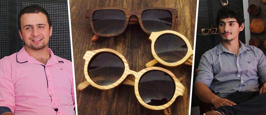 ... os empresários Breno e Kelvyn estarão com um estande da Allfenas no  Villaggio Mall Center. A empresa é especializada em óculos de madeira de  descarte, ... 2349a4626b