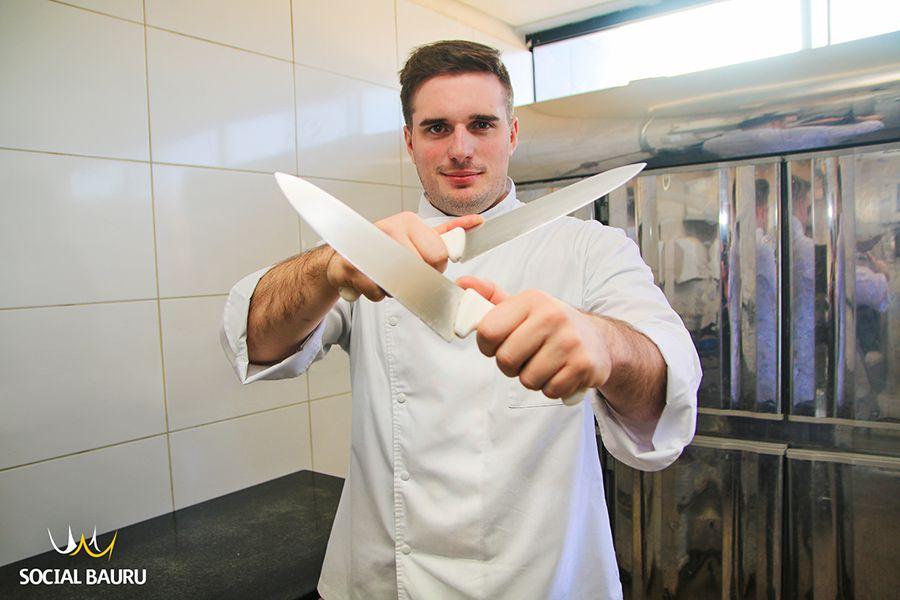 Gabriel Mellado é o responsável pela cozinha do The One