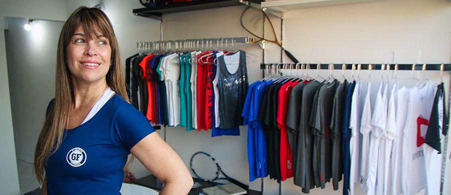 Bauruense aposta em camisetas para academia totalmente ... 5ba7b814279c4