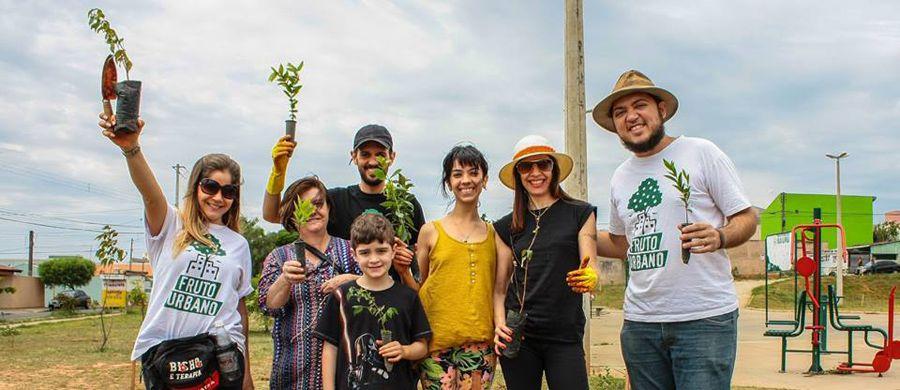 O projeto Fruto Urbano é um dos que lutam por uma cidade mais verde