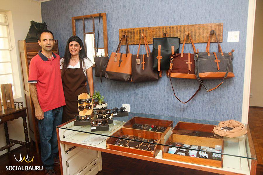 Fabio Moizes e Michele Terra são os proprietários da M Terra, novidade em  Bauru 9a265e05da