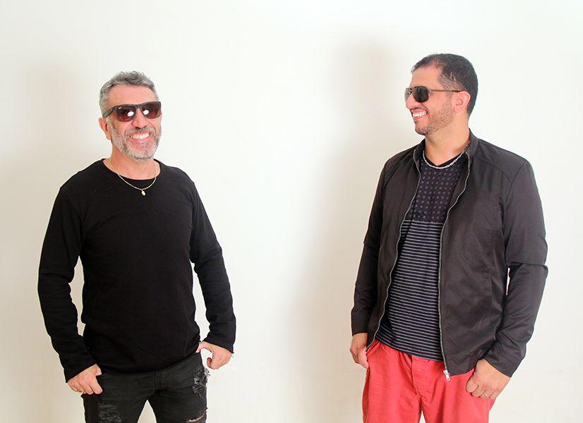 Venicio Junior e Douglas Chahad da Two Rocks