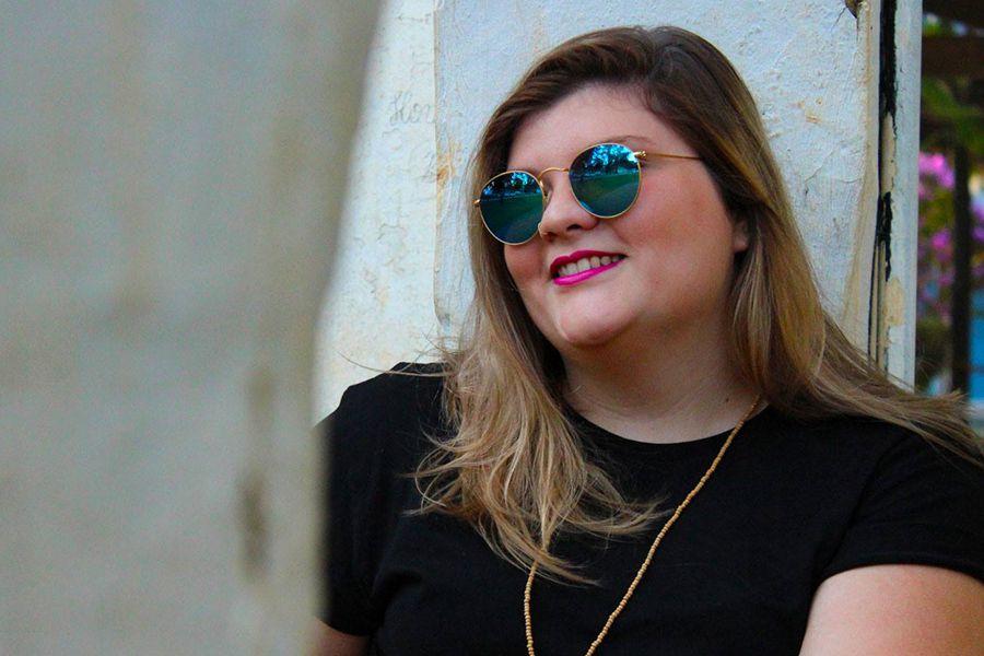 """Júlia Eleutério participou da """"Galeria do empoderamento"""" para o Engrandeça"""
