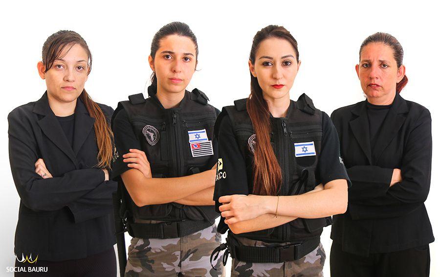 Bianca, Mayra, Gabriela e Simone representam a força feminina em Bauru