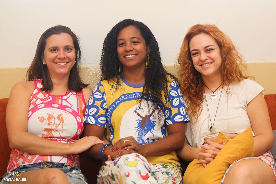 Michele Távora, Mestra Joana Cavalcante e Fernanda Ayoub