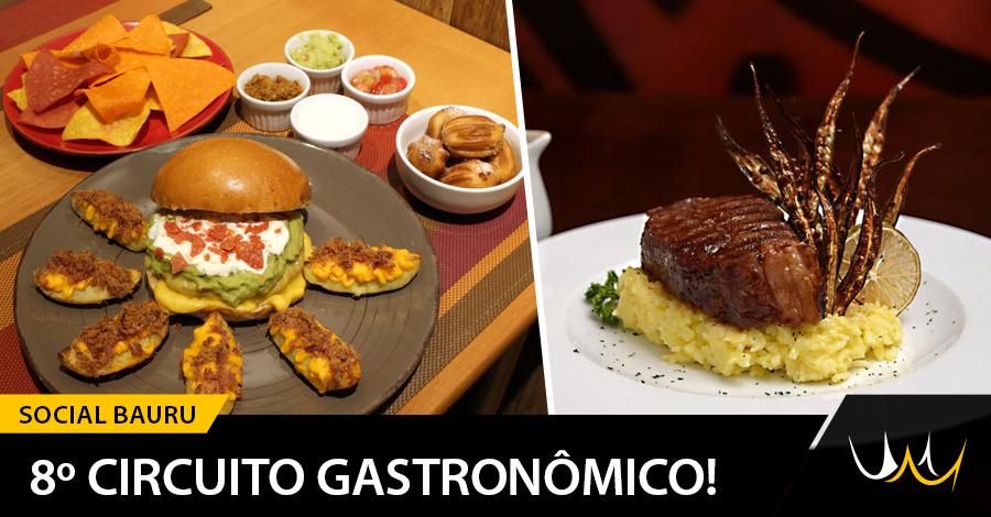 Circuito Gastronomico : º circuito gastrônomico oferece mais de opções