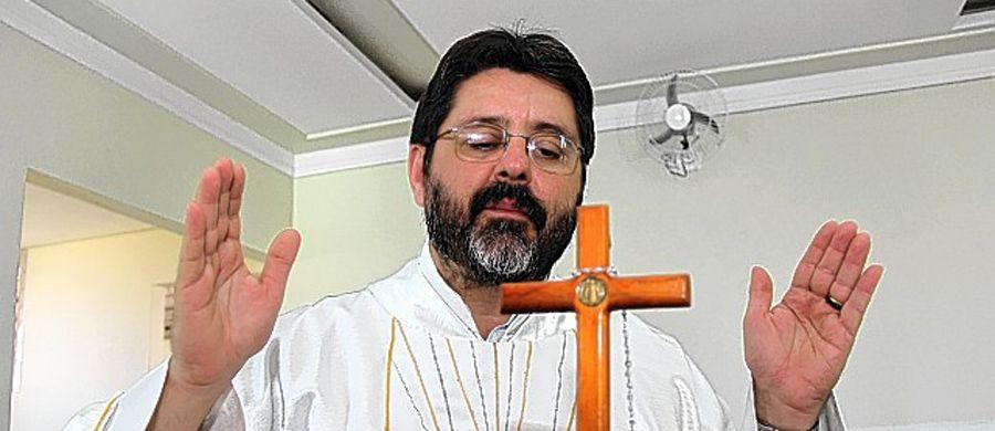 Padre Ricci foi nomeado hoje de manhã