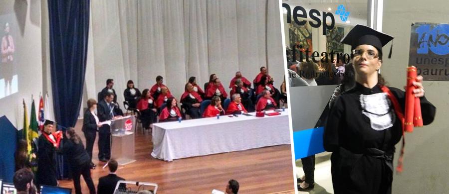 Ana Raquel se formou em Jornalismo na Unesp