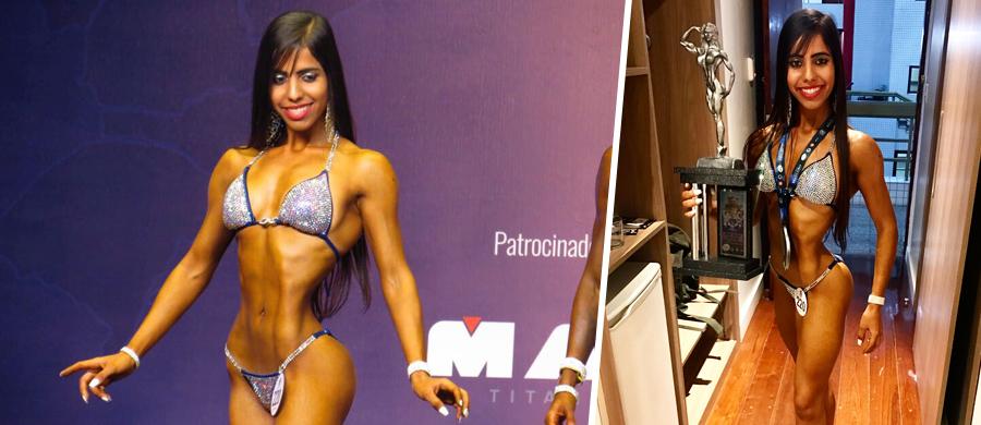 Dayane Romão atleta fisiculturista