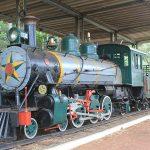 Locomotiva do Bosque da Comunidade em Bauru