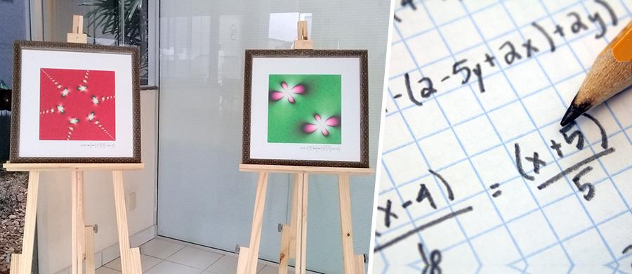 """Exposição """"Matemática, tecnologia e arte"""" em Bauru"""