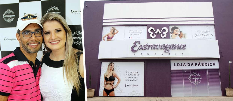 c0b7a89c3 Casal de Bauru investe em megaloja de lingeries para vendas no atacado