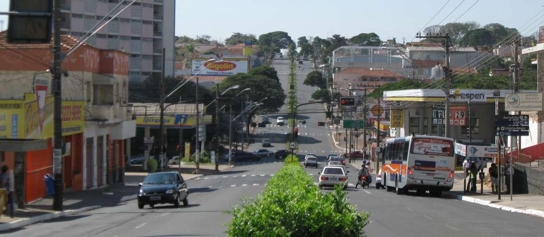 Avenida Rodrigues Alves em Bauru