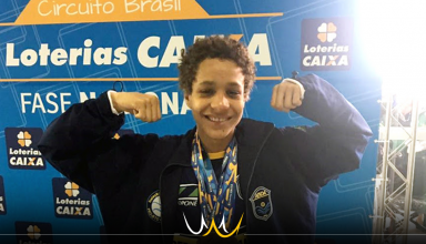 Matheus, nadador paralímpico de Bauru, irá representar Brasil na World Series