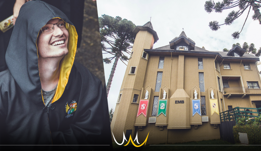 Bauruense visita Hogwarts Brasileira