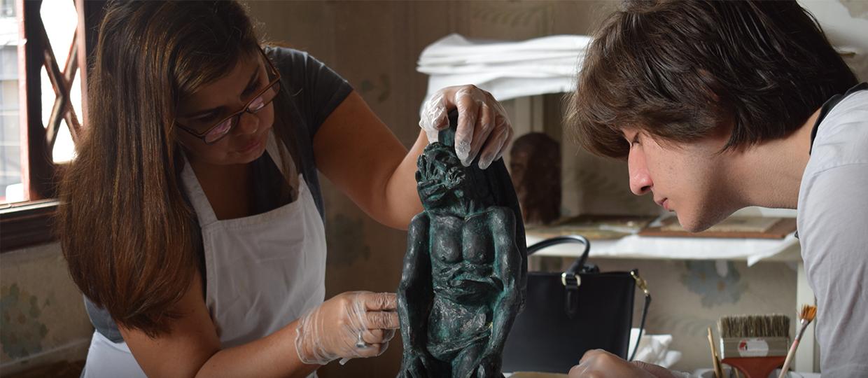 Restauração e Conservação de obras da Pinacoteca de Bauru
