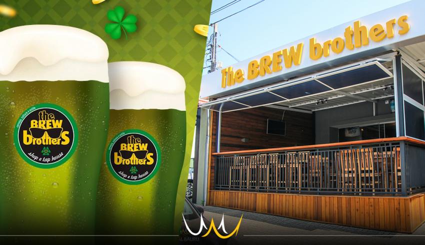 The Brew Brothers organiza Saint Patrick's Day em Bauru