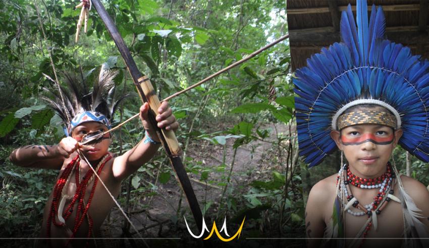 """Exposição """"Filhos da Terra"""" em Bauru com índios da Aldeia Ekeruá"""