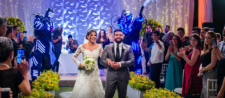 Casal da região tem casamento milionário feito pelo programa Fábrica de Casamentos
