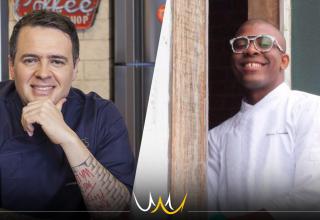 Jantar a 4 mãos em Bauru com Chef Leonardo Roncon e Moacir Santana no Varandas Talho em Bauru