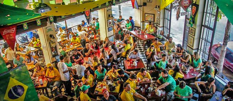 15 lugares em Bauru para assistir os jogos do Brasil na Copa do Mundo