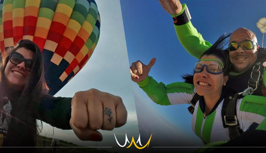 ID Travel em Bauru oferece viagens de experiência como balonismo e salto de paraquedas
