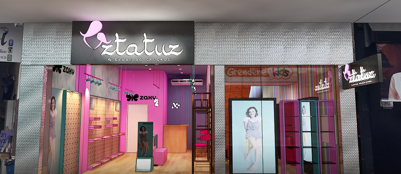 Loja Ztatuz inaugura em Bauru como um clube do calçado com 10 marcas diferentes