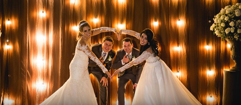 Bauruenses aderem ao casamento duplo e contam como foi a experiência
