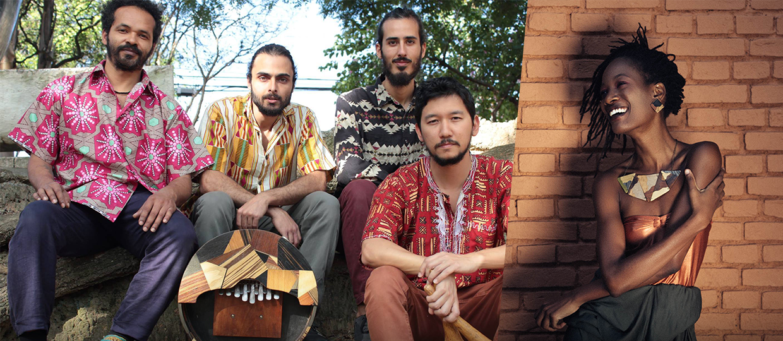 Quarteto Mondhoro Tibiraçu e Lenna Bahule fazem show gratuito no Sesc Bauru