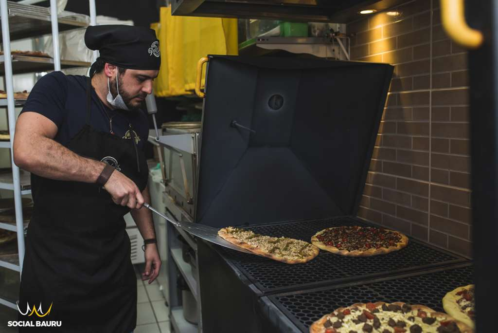 pizza grill bauru