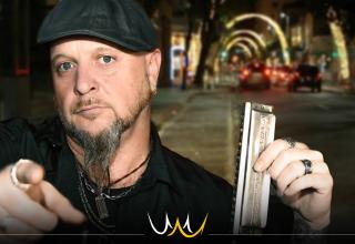 """Blues no Sesc: Sérgio Duarte Blues Band apresenta o show """"Highway Man"""" em Bauru"""