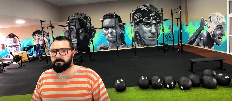 Jota Crepaldi, grafiteiro de Bauru tem sua arte reconhecida por atleta olímpica dos Estados Unidos
