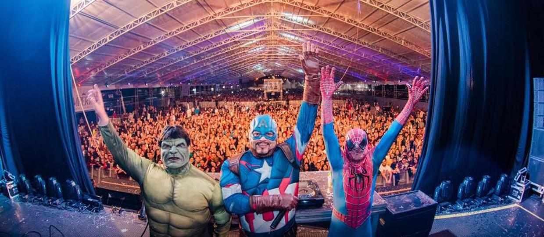 The Heroes faz show pela 1ª vez em Bauru com muita música eletrônica