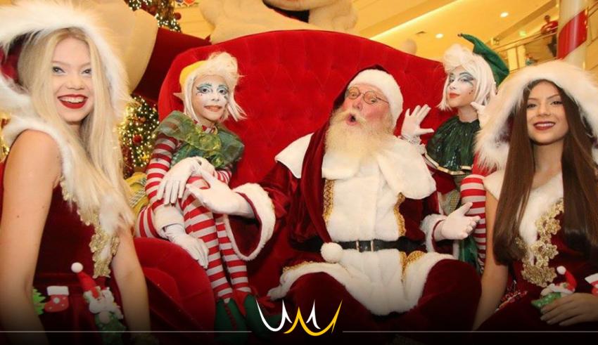 Papai Noel chega ao Boulevard Shopping acompanhado da Masha e o Urso neste sábado (3)