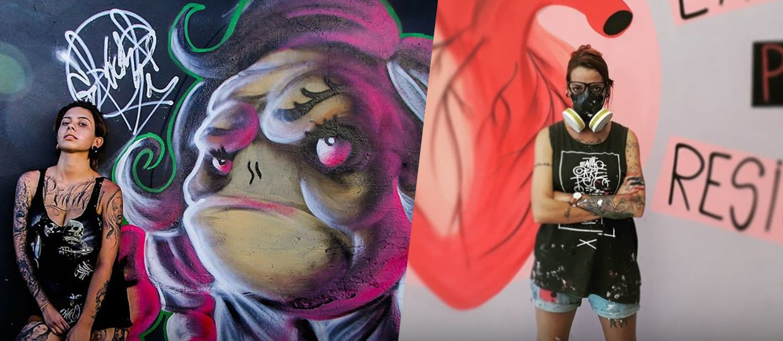 Rainhas dos muros: grafiteiras de Bauru relatam suas experiências