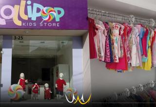 Loja infantil Lollipop Kids Store de Bauru faz bazar com mais de 1500 peças a partir de R$10,00