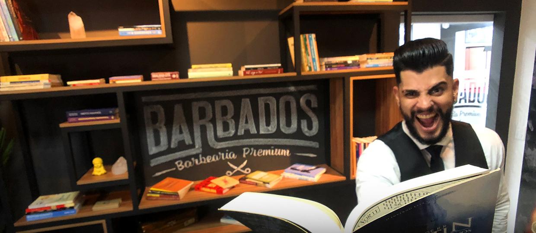 Barbas literárias: Barbearia Barbados de Bauru cria projeto para incentivar a leitura!