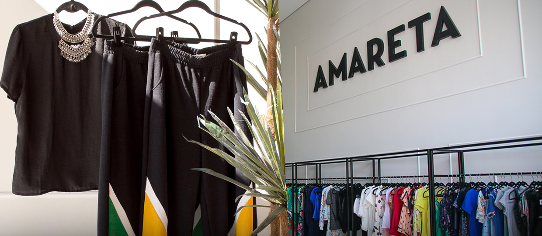 83110a17f76 Amareta Store organiza bazar de roupas femininas com até 70% de desconto