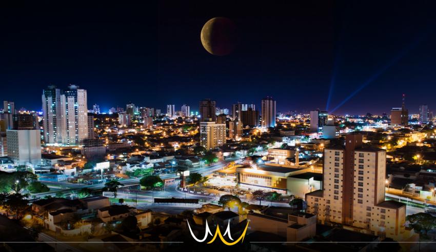 eclipse lunar bauru